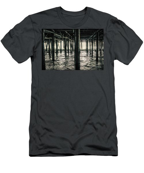 Under The Pier 3 Men's T-Shirt (Athletic Fit)