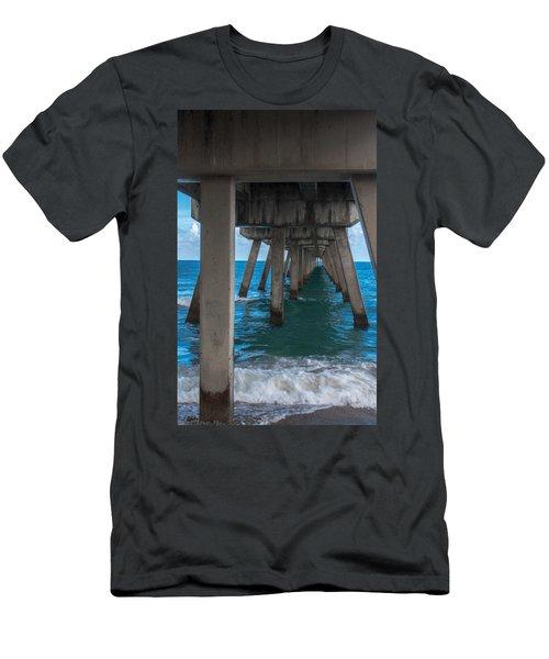 Under The Pier Men's T-Shirt (Athletic Fit)