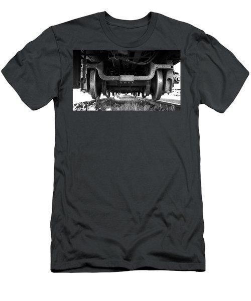 Under The Train Men's T-Shirt (Athletic Fit)