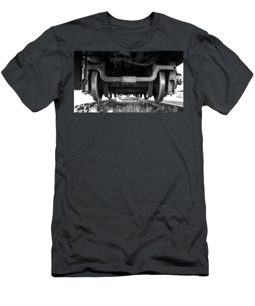 Under The Train Men's T-Shirt (Athletic Fit)