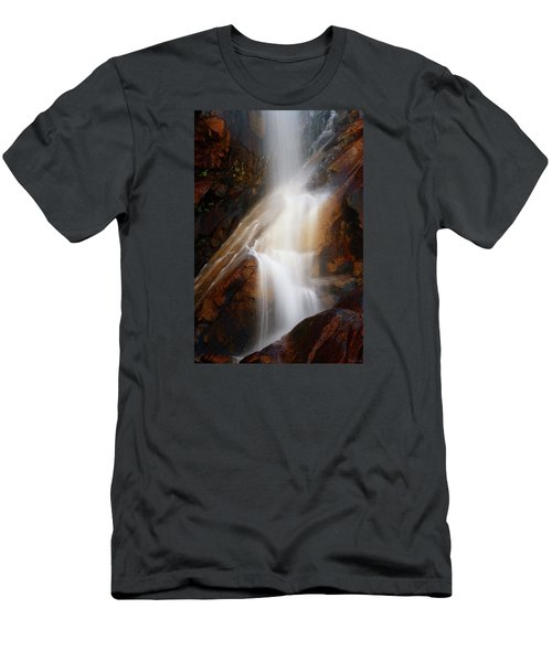 Under The Vaille Men's T-Shirt (Slim Fit) by Rick Furmanek
