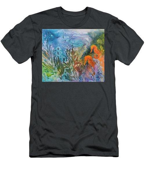 Undersea Garden Men's T-Shirt (Athletic Fit)
