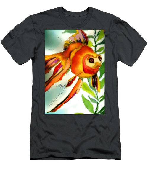 Underwater Fish Men's T-Shirt (Slim Fit) by Lyn Chambers