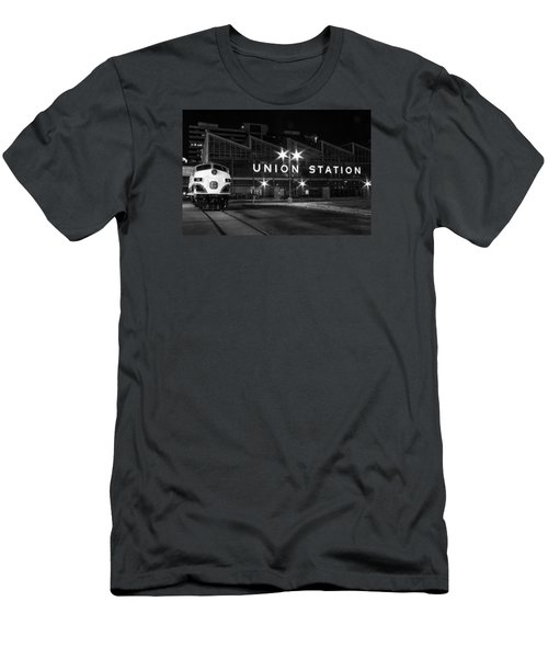 Union Station Night Glow Men's T-Shirt (Athletic Fit)