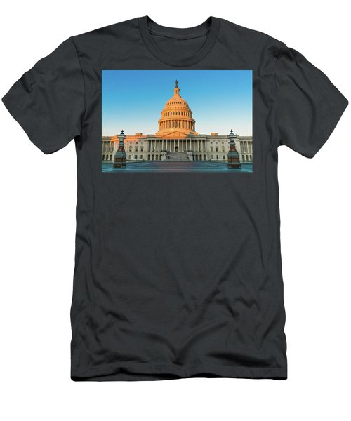 United States Capitol  Men's T-Shirt (Athletic Fit)