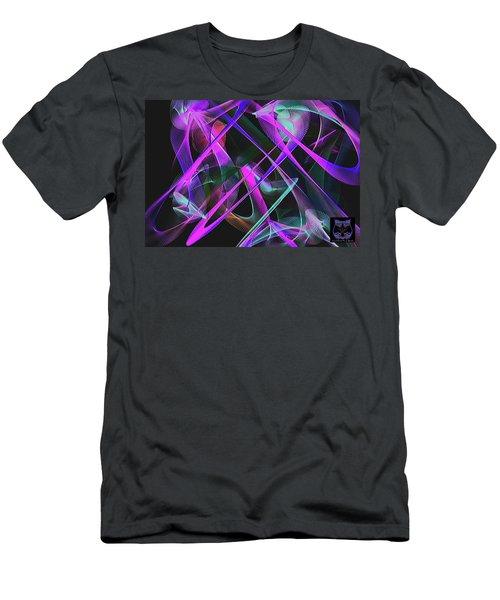 Men's T-Shirt (Athletic Fit) featuring the digital art Universe by Visual Artist Frank Bonilla
