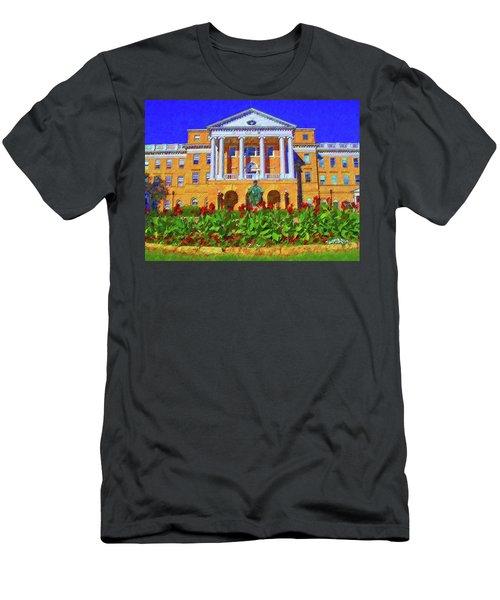 University Of Wisconsin  Men's T-Shirt (Athletic Fit)