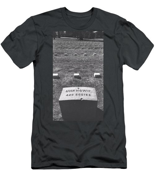 Men's T-Shirt (Athletic Fit) featuring the photograph Unknown Bodies by Robbie Masso