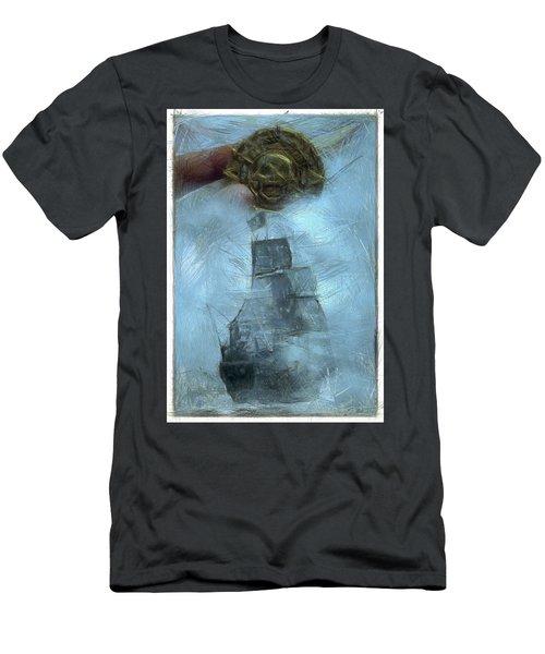 Unnatural Fog Men's T-Shirt (Slim Fit) by Benjamin Dean