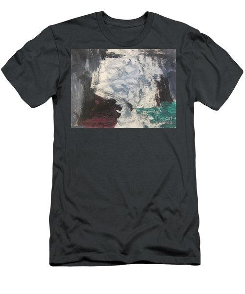 Untitled 127 Original Painting Men's T-Shirt (Athletic Fit)