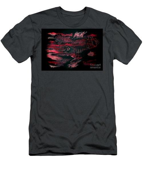 Untitled-140 Men's T-Shirt (Athletic Fit)