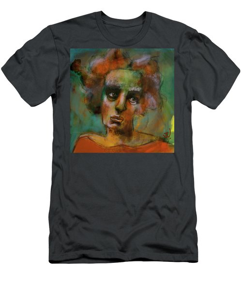 Men's T-Shirt (Athletic Fit) featuring the digital art Untitled - 14sept2017 by Jim Vance