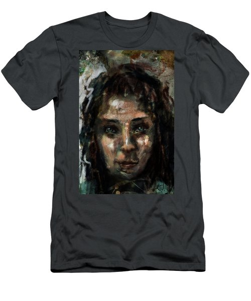 Men's T-Shirt (Athletic Fit) featuring the digital art Untitled - 24sept2017 by Jim Vance