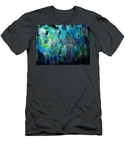 Ocean Deep Men's T-Shirt (Athletic Fit)