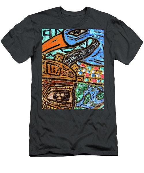 Untitled Olmec And Tehuti Men's T-Shirt (Athletic Fit)