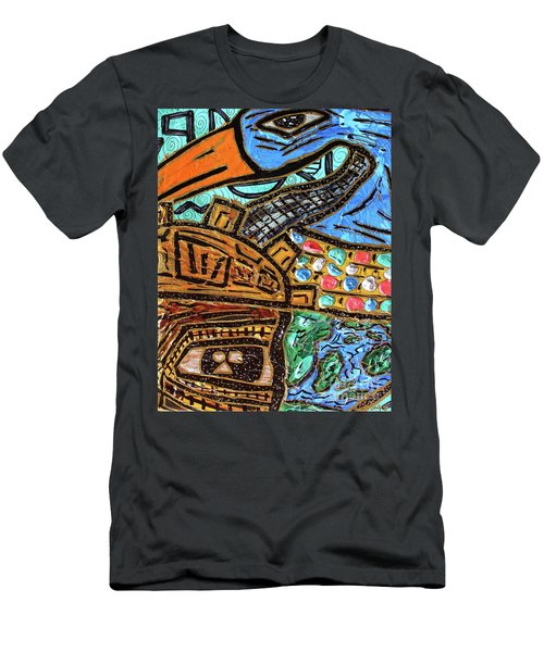 Untitled Olmec And Tehuti Men's T-Shirt (Athletic Fit)