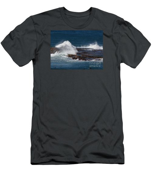 Unwitting Swimmer Men's T-Shirt (Slim Fit) by Bev Conover