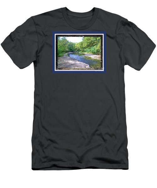 Men's T-Shirt (Slim Fit) featuring the photograph Up A Creek by Shirley Moravec