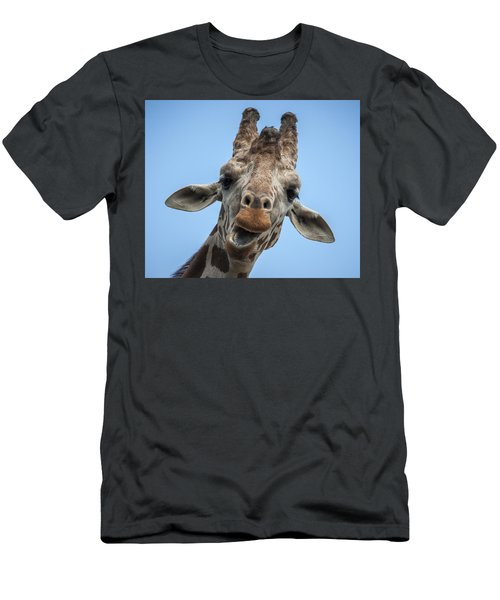 Up Here Men's T-Shirt (Slim Fit) by Tyson Smith