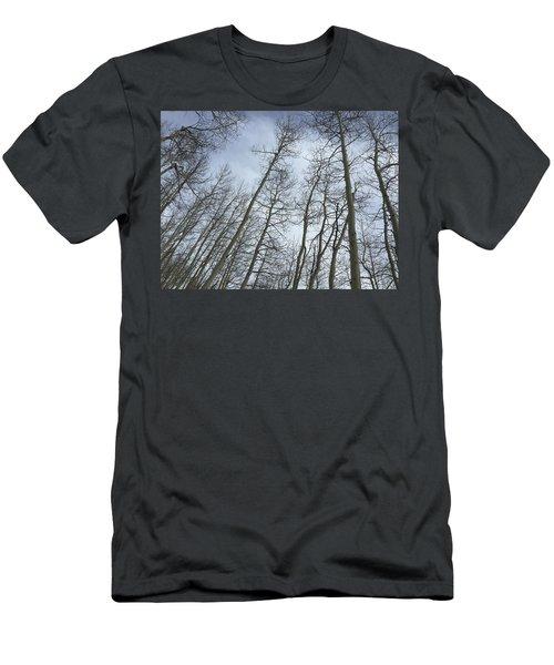 Up Through The Aspens Men's T-Shirt (Athletic Fit)