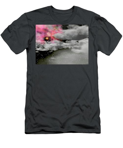 Up Through The Clouds Men's T-Shirt (Slim Fit) by Michele Wilson