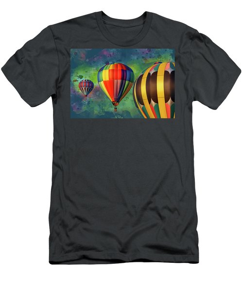 Up, Up, And Away Men's T-Shirt (Athletic Fit)