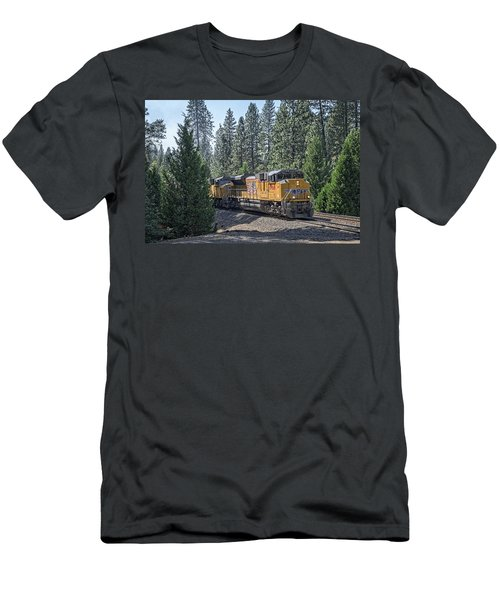Up8968 Men's T-Shirt (Slim Fit) by Jim Thompson