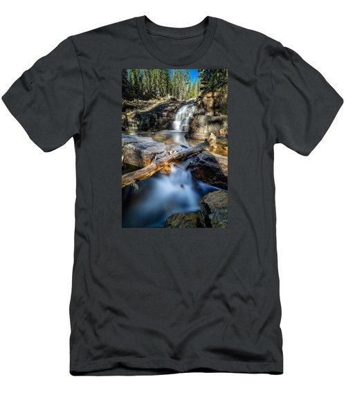 Upper Provo River Falls Men's T-Shirt (Athletic Fit)