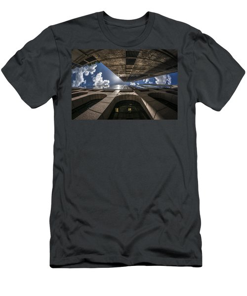 Urban Canyon Sunburst Men's T-Shirt (Athletic Fit)