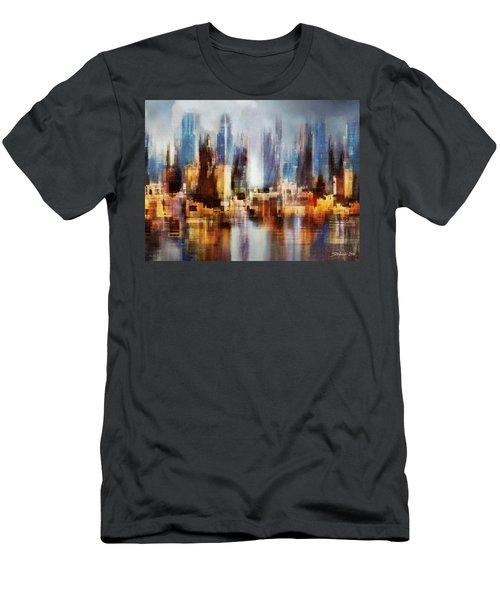 Urban Morning II Men's T-Shirt (Athletic Fit)