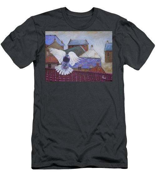Urban Pigeon Men's T-Shirt (Athletic Fit)