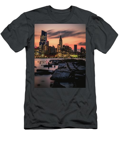 Urban Sunrise Men's T-Shirt (Athletic Fit)