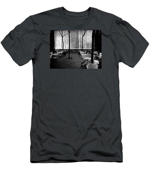 Urban Waterfall Men's T-Shirt (Slim Fit) by M G Whittingham