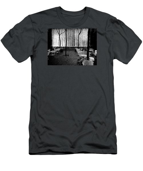 Urban Waterfall Men's T-Shirt (Athletic Fit)