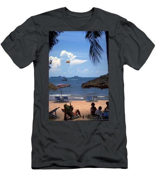 Us Navy Off Pattaya Men's T-Shirt (Athletic Fit)