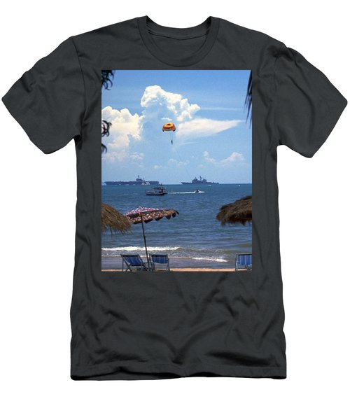 Us Navy Off Pattaya Men's T-Shirt (Athletic Fit)