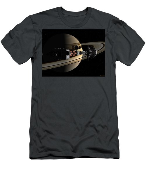 Uss Cumberland Passing Ringed Giant Men's T-Shirt (Athletic Fit)