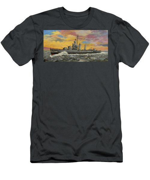 Uss Ericsson Men's T-Shirt (Athletic Fit)