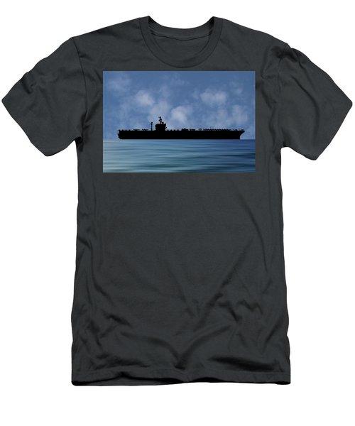 Uss George Washington 1992 V1 Men's T-Shirt (Athletic Fit)