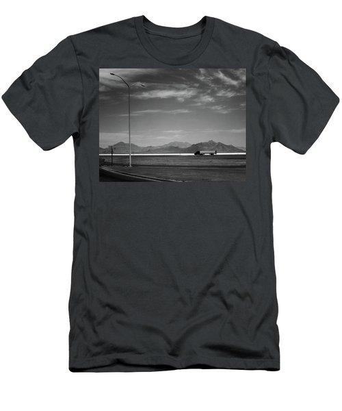 Utah Salt Flats Men's T-Shirt (Athletic Fit)