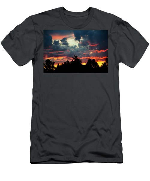 Utah Sunset Men's T-Shirt (Athletic Fit)