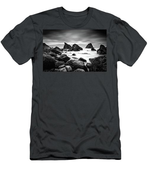 Utopia Men's T-Shirt (Slim Fit) by Jorge Maia