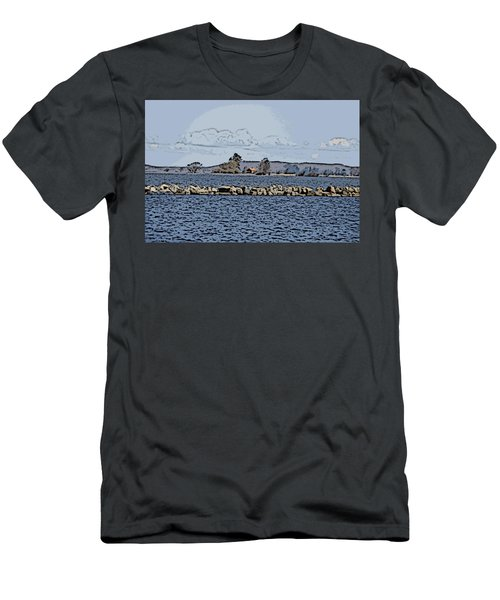 Vaennern Lake Men's T-Shirt (Athletic Fit)