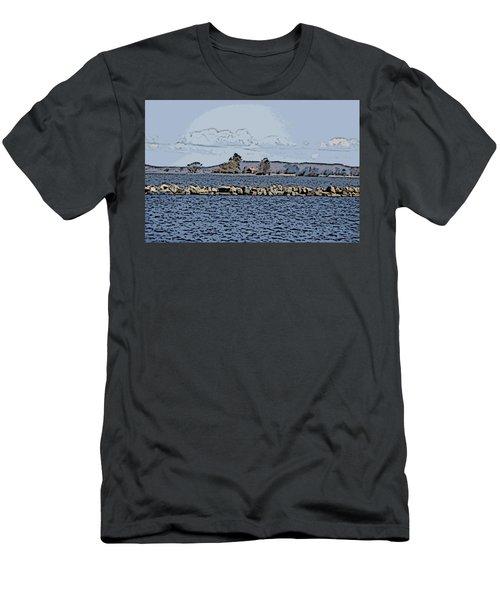 Vaennern Lake Men's T-Shirt (Athletic Fit)