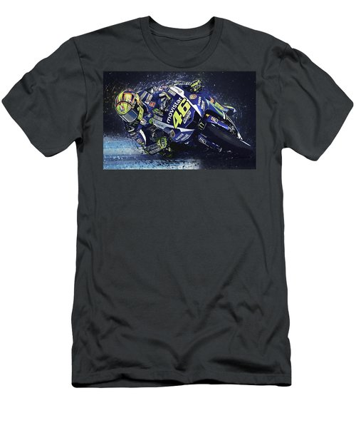 Valentino Rossi Men's T-Shirt (Athletic Fit)