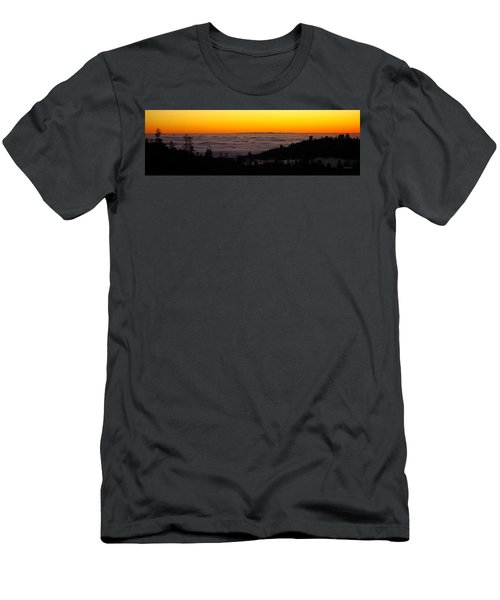 Valley Fog Twilight Men's T-Shirt (Athletic Fit)