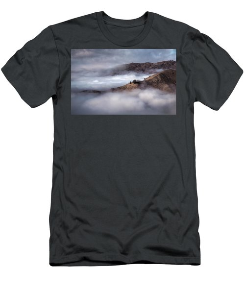 Valley In The Clouds Men's T-Shirt (Slim Fit) by Brad Grove