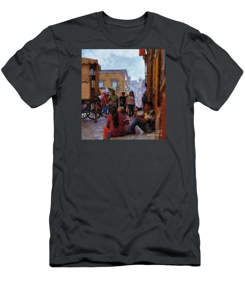 Van Gogh Visits Mexico Men's T-Shirt (Athletic Fit)