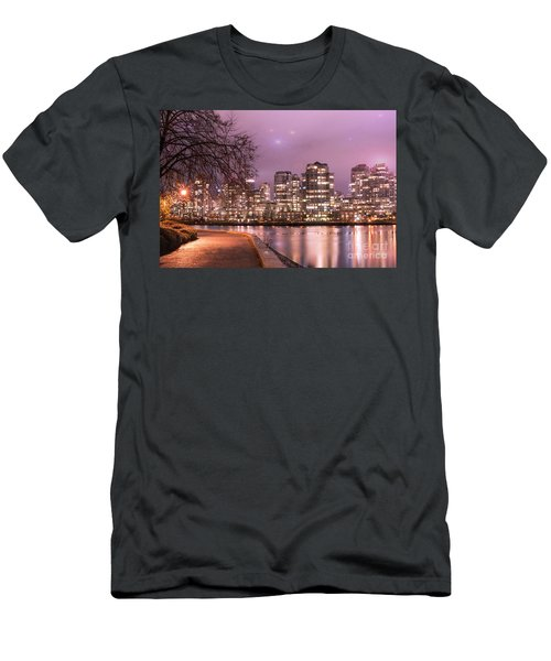 Men's T-Shirt (Slim Fit) featuring the photograph Vancouver, Canada by Juli Scalzi