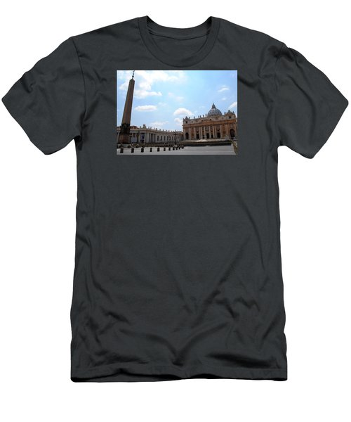 Vatican On Sunny Day Men's T-Shirt (Slim Fit) by Robert Moss
